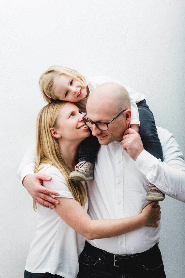 Familien Fotoshooting Mädchen