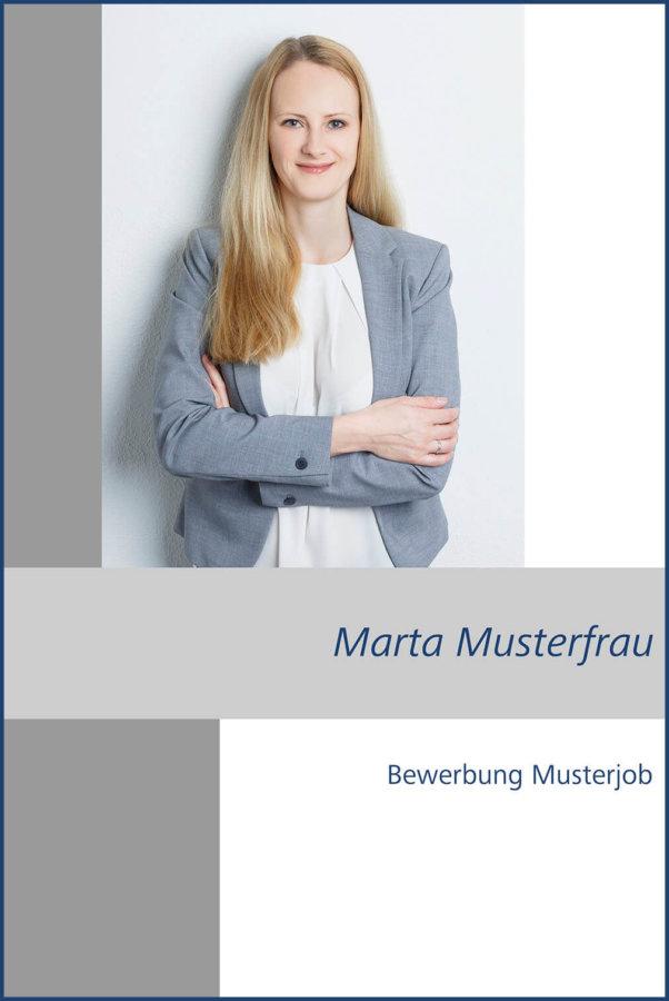 Bewerbungsfotos Wiesbaden mit Deckblatt Gestaltung vom Fotografen