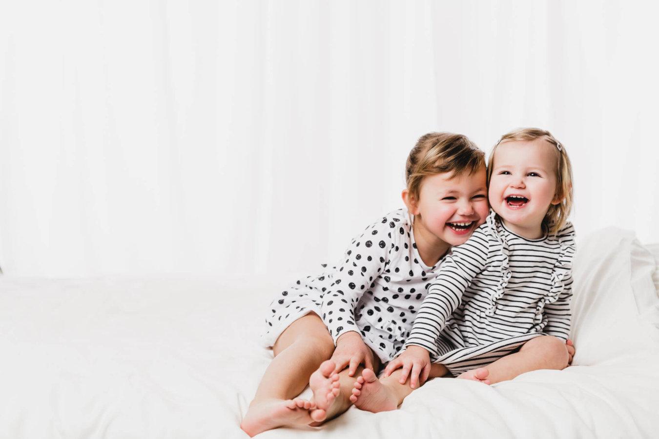 Kinder Fotoshooting Schwestern